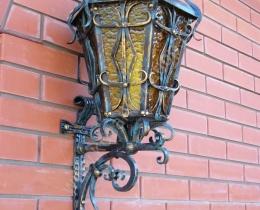 Кованые люстры, фонари, светильники, подсвечники №23