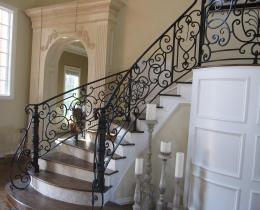 Кованые лестницы в Воронеже №17