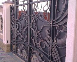 Кованые ворота в Воронеже №58