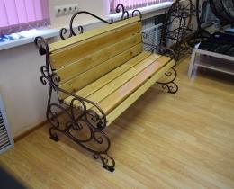 Кованые скамейки в Воронеже №126