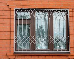 Кованые оконные решетки в Воронеже №130