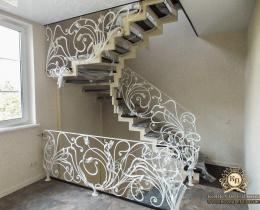 Кованые лестницы в Воронеже №116