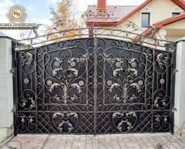 Кованые ворота в Воронеже №202
