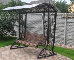 Кованые качели в Воронеже №25