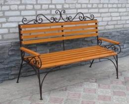 Кованые скамейки в Воронеже №87