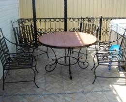 Кованые столы в Воронеже №71