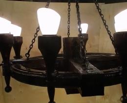 Кованые люстры, фонари, светильники, подсвечники №64