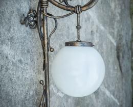 Кованые люстры, фонари, светильники, подсвечники №66