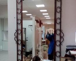 Кованые зеркала в Воронеже №107