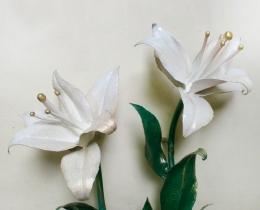 Кованые цветы в Воронеже №68