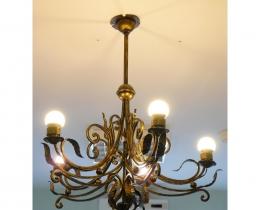 Кованые люстры, фонари, светильники, подсвечники №68