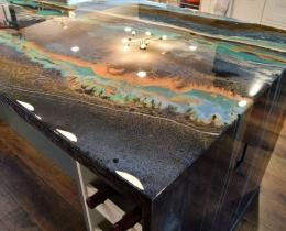 Дизайнерские столы, столешницы №59