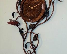 Кованые часы в Воронеже №43