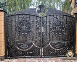 Кованые ворота в Воронеже №188