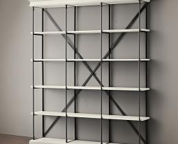 Кованые этажерки, стеллажи, консоли №14
