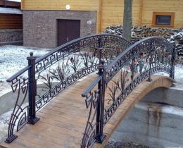 Кованый мостики в Воронеже №2