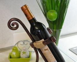Кованые винницы, подставки под вино №10