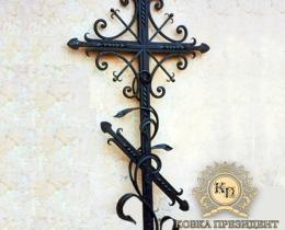 Кованые ритуальные изделия в Воронеже №23