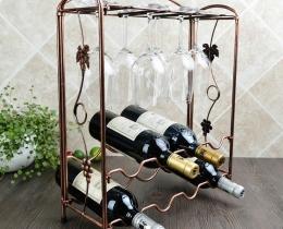 Кованые винницы, подставки под вино №4
