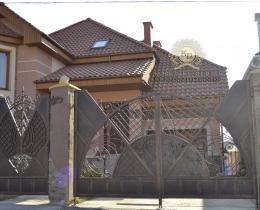 Кованые ворота в Воронеже №21