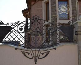 Кованые ворота в Воронеже №19