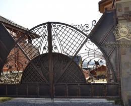 Кованые ворота в Воронеже №22