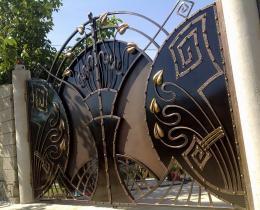 Кованые ворота в Воронеже №78