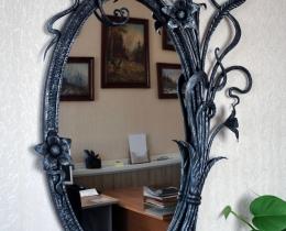 Кованые зеркала в Воронеже №136