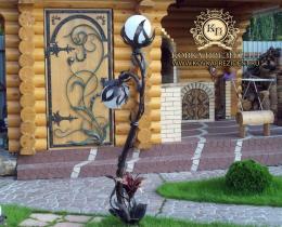 Кованые фонари в Воронеже №38