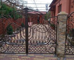 Кованые ворота в Воронеже №146