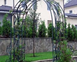 Кованые арки в Воронеже №14