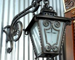 Кованые фонари в Воронеже №88