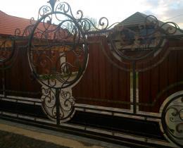 Кованые ворота в Воронеже №138