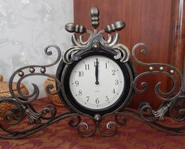 Кованые часы в Воронеже №21