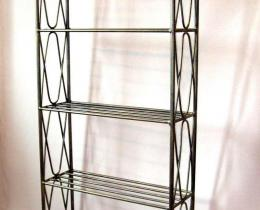 Кованые этажерки, стеллажи, консоли №22