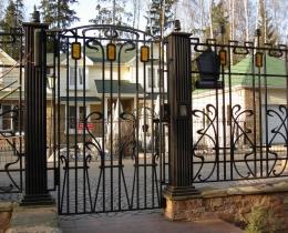 Кованые заборы в Воронеже №159