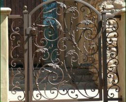 Кованые ворота в Воронеже №79