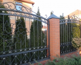 Кованые заборы в Воронеже №160