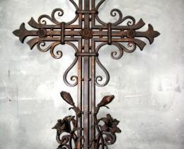 Кованые ритуальные изделия в Воронеже №21