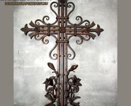 Кованые ритуальные изделия в Воронеже №39