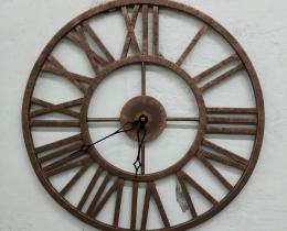 Кованые часы в Воронеже №90
