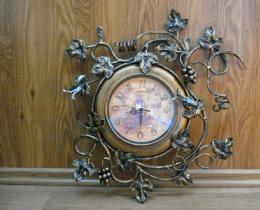 Кованые часы в Воронеже №22