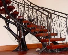 Кованые лестницы в Воронеже №75