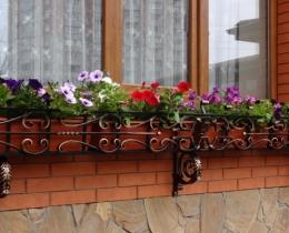 Кованые цветочницы в Воронеже №124