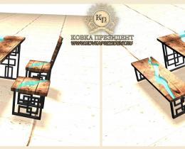 Дизайнерские столы, столешницы №22