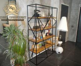 Кованые этажерки, стеллажи, консоли №26