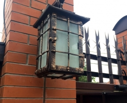 Кованые фонари в Воронеже №94