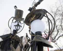 Кованые фонари в Воронеже №95