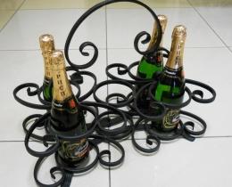 Кованые винницы, подставки под вино №28