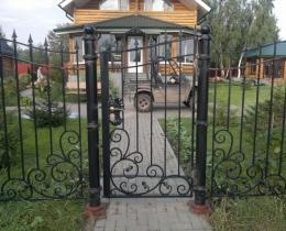 Кованые ворота в Воронеже №102